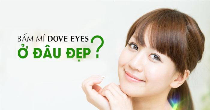 Bấm Mí Dove Eyes Tạo Mắt 2 Mí To Tròn Long Lanh Như Ý