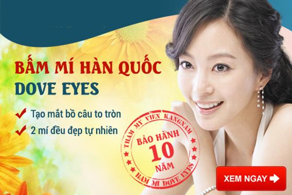 Bấm Mí Hàn Quốc Dove Eyes Tạo Mắt Bồ Câu