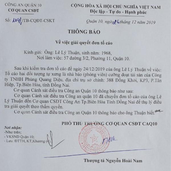 Đơn kiện thông tin bệnh viện thẩm mỹ Gangwhoo phủi bỏ trách nhiệm là sai